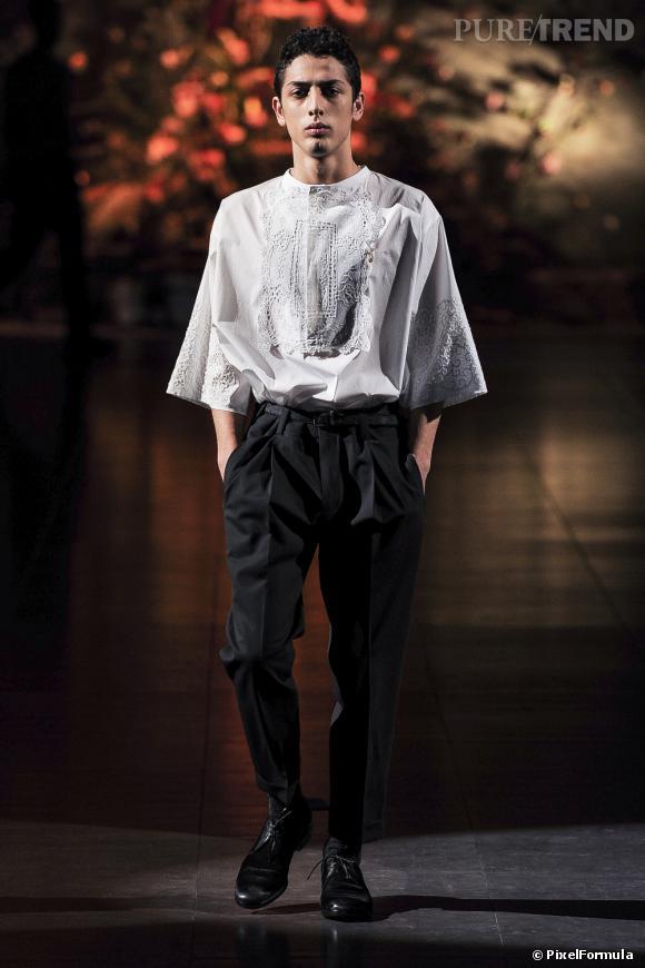 Défilé Dolce & GabbanaMilan Automne-Hiver 2014