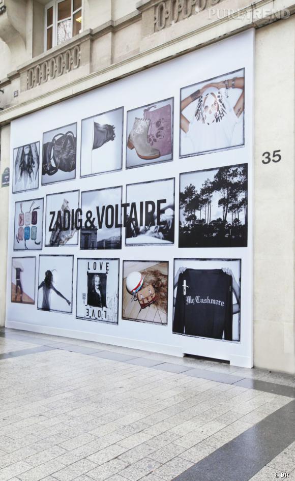 Zadig & Voltaire : deux nouvelles adresses sur les Champs Elysées