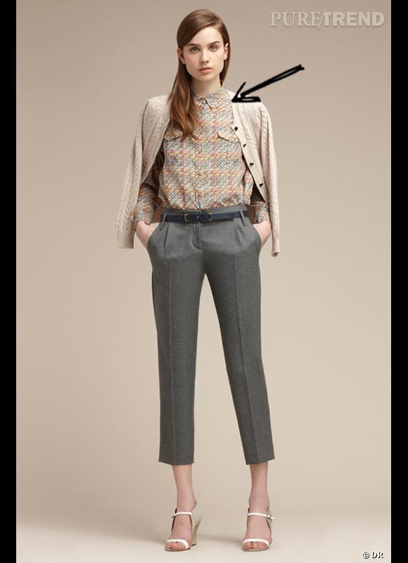 Comment porter les carreaux cet hiver ?      Comme chez Maison Kitsuné on adopte la petite chemise en carreaux pastel.      Collection Automne-Hiver 2012/2013