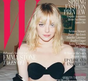 Emma Stone, au naturel et sans maquillage dans les pages de W
