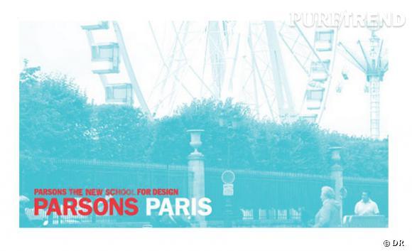 L'école Parsons School de New York installe une antenne à Paris.