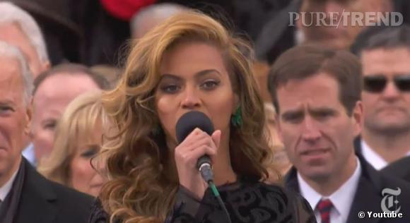 Beyoncé aurait-elle chanté en play-back lors de l'investiture de Barack Obama ?
