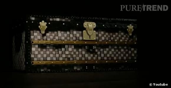 """Retracing the Trunk"", la vidéo inattendue de  Louis Vuitton  ."