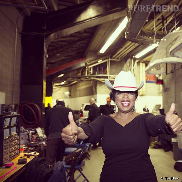 Oprah remercie ses fans de Dallas...