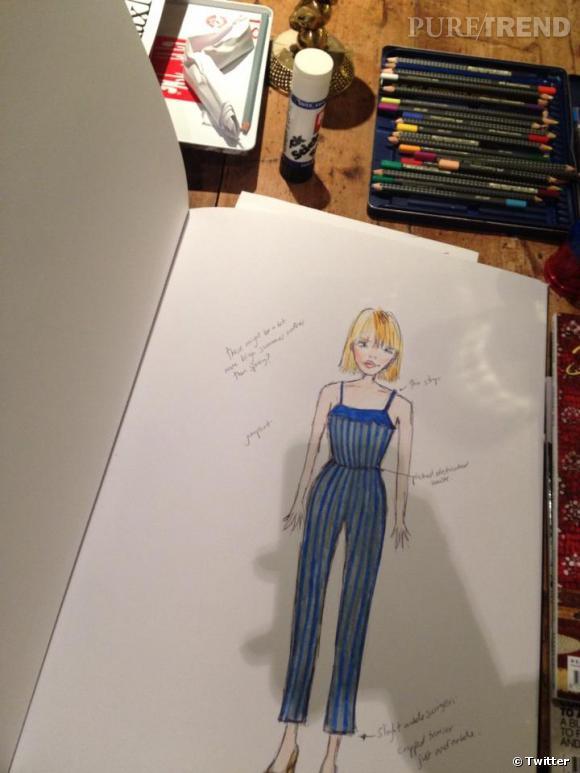 Fearne Cotton nous montre un aperçu de sa prochaine collection Printemps-Été 2013.
