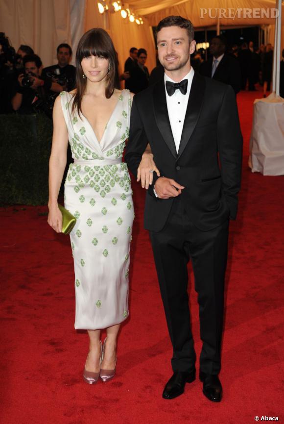 Justin Timberlake et Jessica Biel se sont mariés l'année dernière.