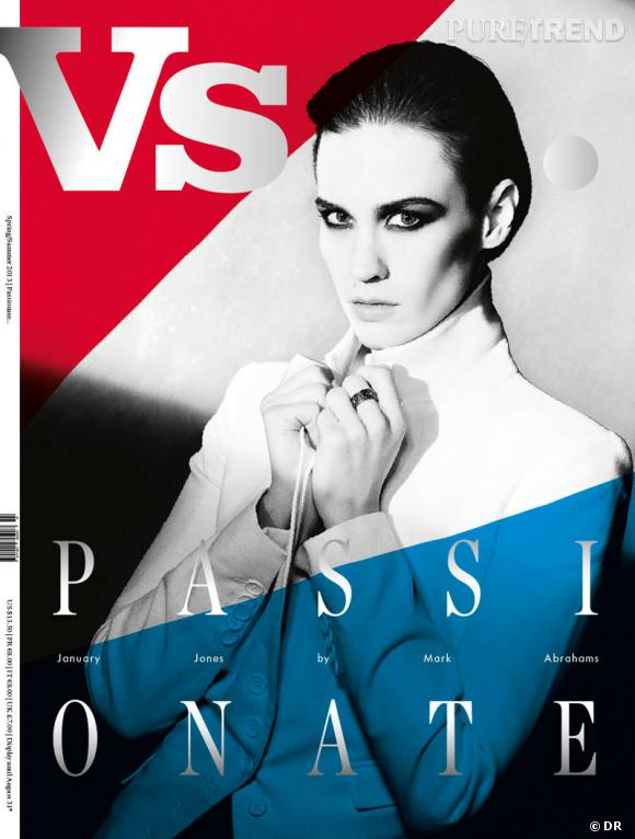 January Jones pose pour le magazine VS.