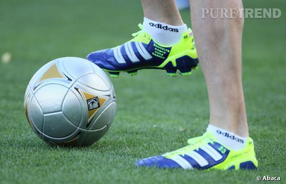 David Beckham est égérie Adidas.