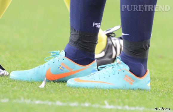 Zlatan Ibrahimovic préfère Nike.