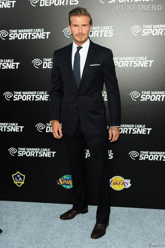 David Beckham : L'élégance british et un peu bad boy.