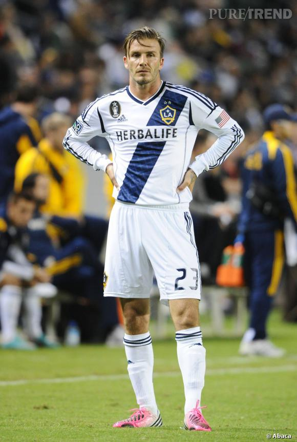 David Beckham sur le terrain