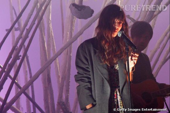 Lou Doillon est nominée dans la catégorie artiste féminine de l'année aux Victoires de la Musique 2013 qui se dérouleront le 8 février.