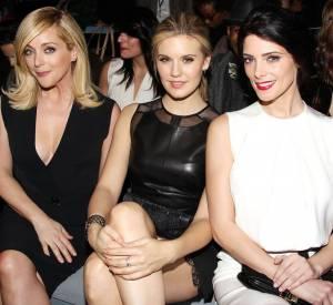 Jane Krakowski, Maggie Grace et Ashley Greene au défilé KaufmanFranco.