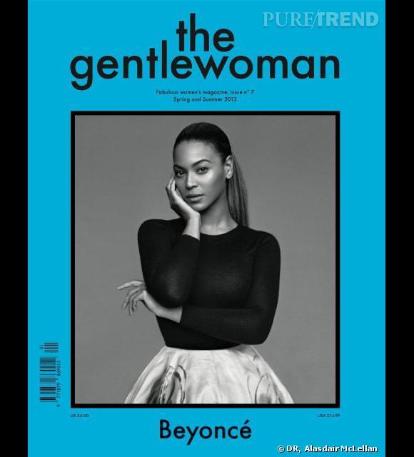 Beyoncé en couverture du magazine anglais bi-annuel The Gentlewoman.