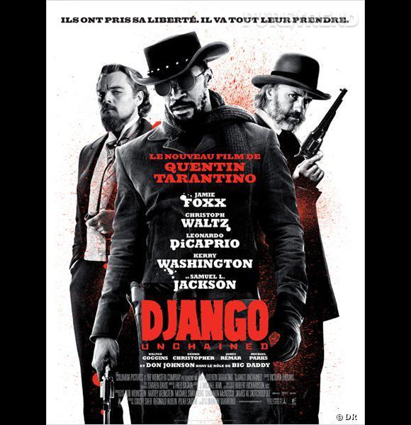 """""""Django Unchained"""", actuellement au cinéma : le plus gros succès de Quentin Tarantino en France."""