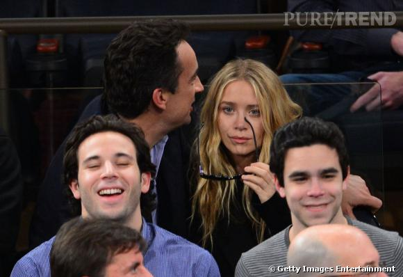 Le couple se montre souvent au Madison Square Garden...