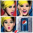 """Beyoncé avait déjà """"testé"""" le blond BB pour sa campagne pop avec Pepsi."""