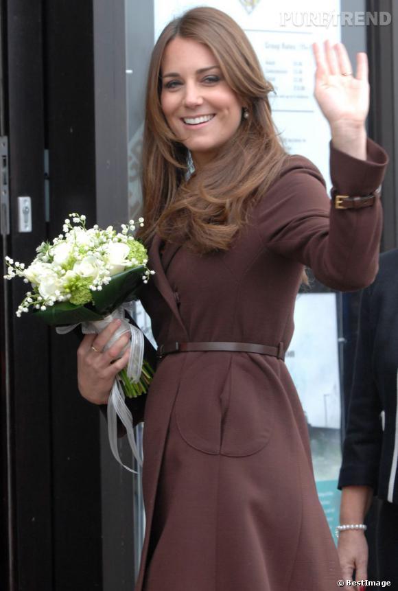 Même enceinte, Kate Middleton doit continuer à faire du sport.