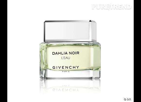 Le must have de Marijke     Eau de parfum L'Eau Dahlia Noir, Givenchy, 65 € disponible à partir du 18 mars