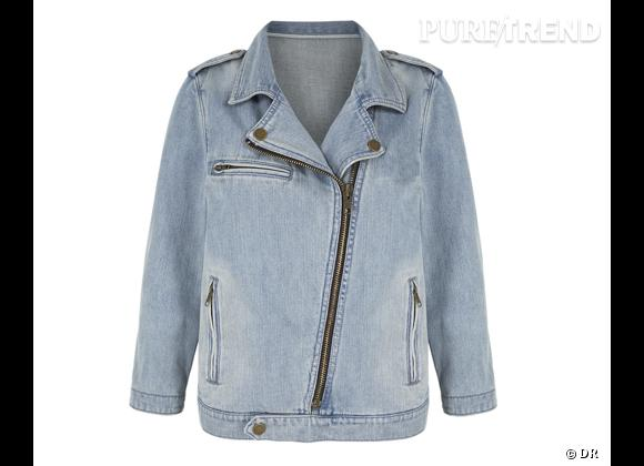 Le must have d'Amélie Biker jacket Gap, 64,95 €
