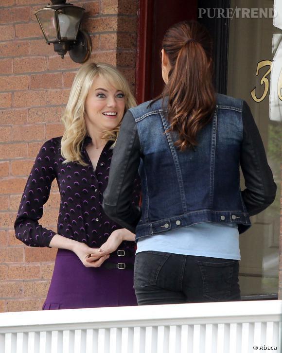 """Emma Stone serait-elle jalouse de la nouvelle venue sur le plateau de """"The Amazing Spider-Man"""" : Shailene Woodley ?"""