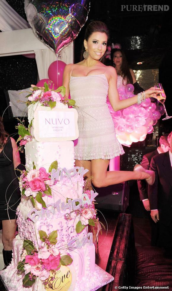 Eva Longoria : un joyeux anniversaire pour la bombe mexicaine !