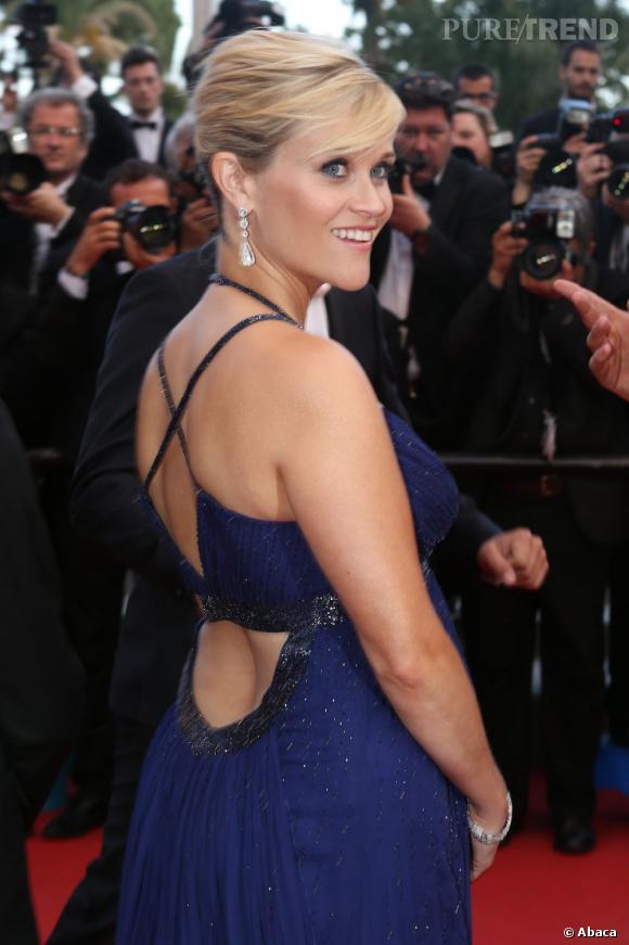 """Reese Witherspoon à la présentation du film """"Mud"""" à Cannes. L'actrice fête ses 37 ans aujourd'hui."""