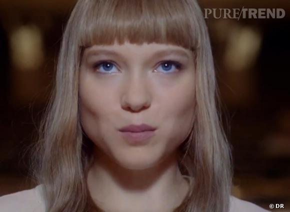 Lea Seydoux, égérie de Prada Candy L'Eau