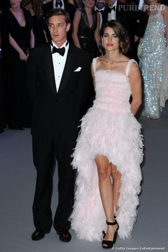 Charlotte Casiraghi, superbe en Chanel lors du Bla de la Rose.