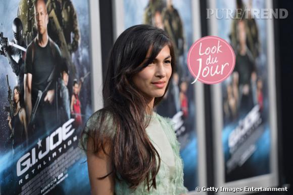 Elodie Yung lors de la première de GI Joe : Conspiration à Los Angeles.