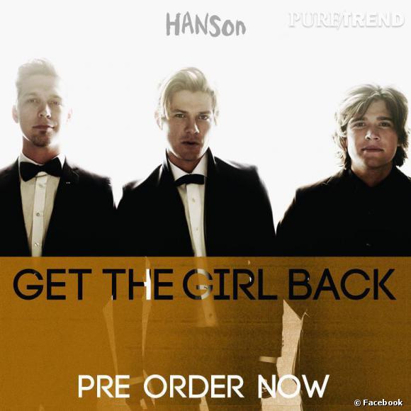 """Les frères Hanson sont de retour avec l'album Anthem porté par le single """"Get the Girl back"""" attendu pour le 9 avril."""