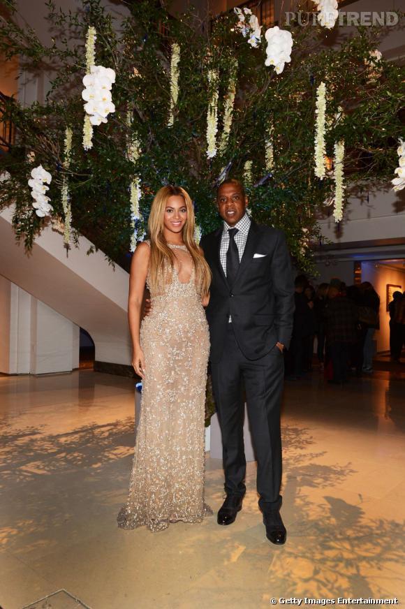 Beyoncé et Jay-z en 2013 lors de la première du film documentaire dédié à la chanteuse.