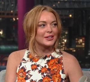 Dans la vidéo de l'interview, on voit Lindsay Lohan plaisanter, puis se mettre à avoir les yeux un peu humides. La star retient ses larmes mais semble émue.
