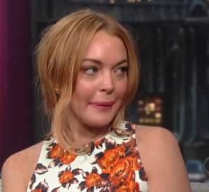 Lindsay Lohan : larmes et confessions face a David Letterman