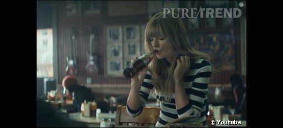 Taylor Swift, nouvelle ambassadrice Diet Coke.