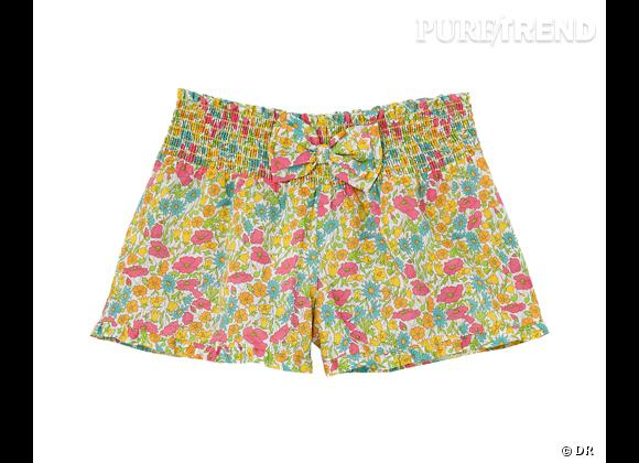 Must Have : Etam & Liberty      Short Edith imprimé Poppy & Daisy, 29,90 €