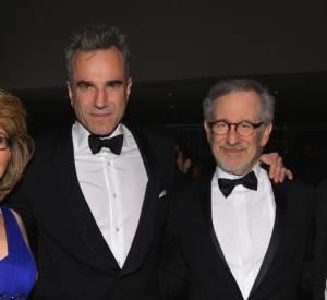 Gabrielle Giffords, Daniel Day-Lewis, Steven Spielberg, et Mark Kelly à la soirée Time 100 Gala de New York.