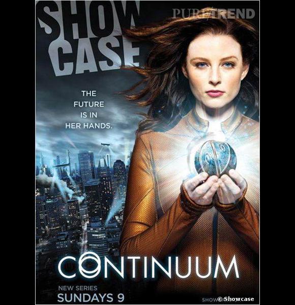 """""""Continuum"""", la série canadienne qui voyage dans le temps..."""