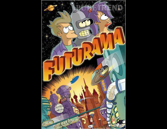 La série de Matt Groening vient d'être annulée, on se devait de la mettre dans les meilleure séries de scince-fiction : les aliens et les robots peuvent être drôles !