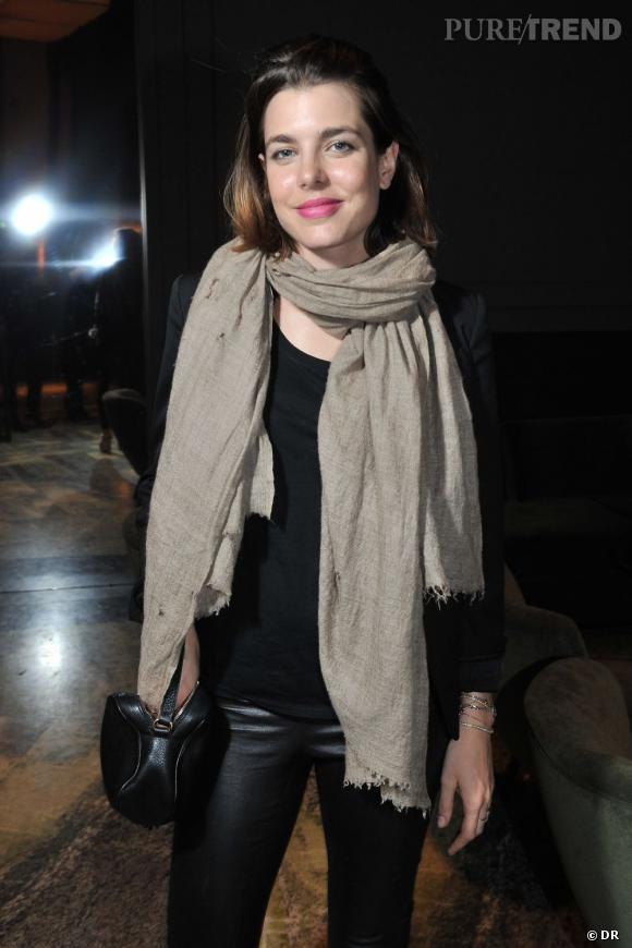 Soirée de lancement de System magazine : Charlotte Casiraghi
