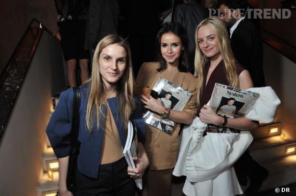 Soirée de lancement de System magazine : Gaia Repossi, Miroslava Duma, Virginie Courtin Clarins