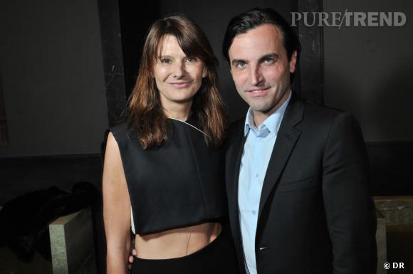 Soirée de lancement de System magazine : Marie-Amélie Sauvé et Nicolas Ghesquière