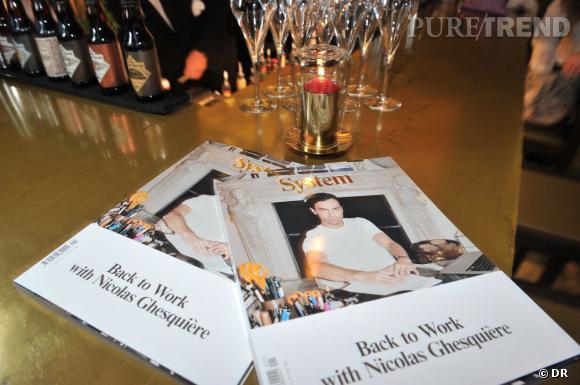 System magazine, nouveau bi-annuel de la mode.