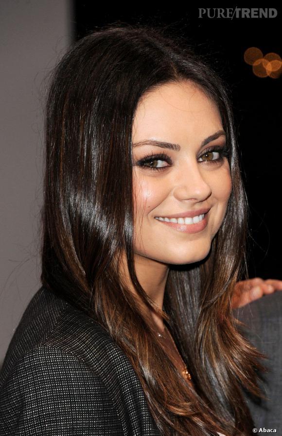 Mila Kunis a une bouche bien proportionnée.