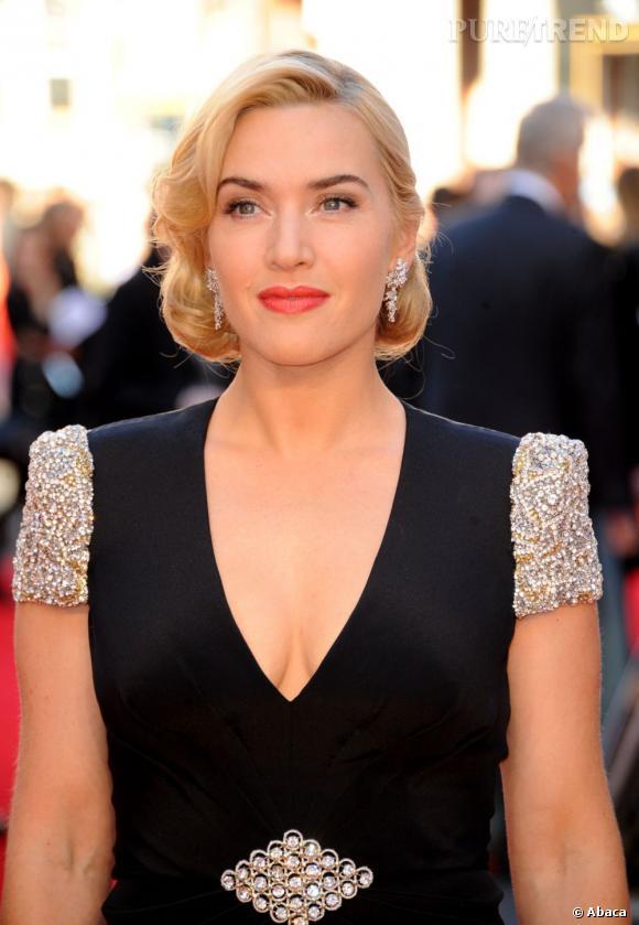La bouche de Kate Winslet semble avoir été dessinée par un adorateur des femmes.