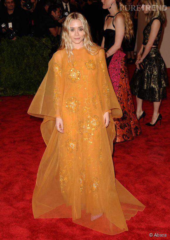 Ashley Olsen en robe Christian Dior Haute Couture, des ...