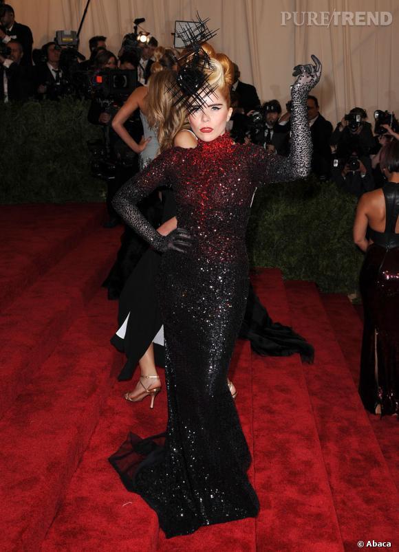 "Paloma Faith au MET Ball 2013, ""Punk : Chaos to Couture""."