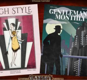 Gatsby Le Magnifique : l'application pour creer son propre avatar