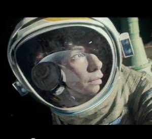 """""""Gravity"""" : la première bande-annonce avec Sandra Bullock et George Clooney."""