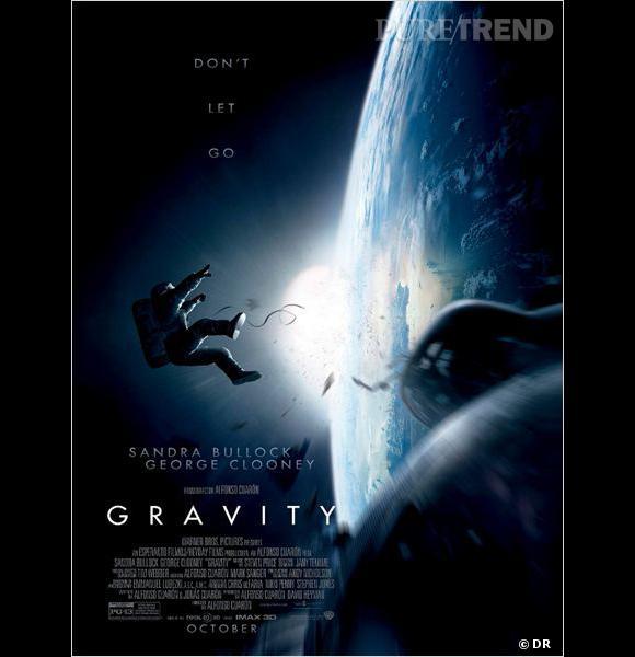 """""""Gravity"""" : l'affiche du film."""